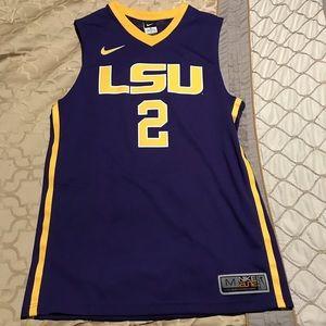 Nike LSU Tigers basketball #2 jersey